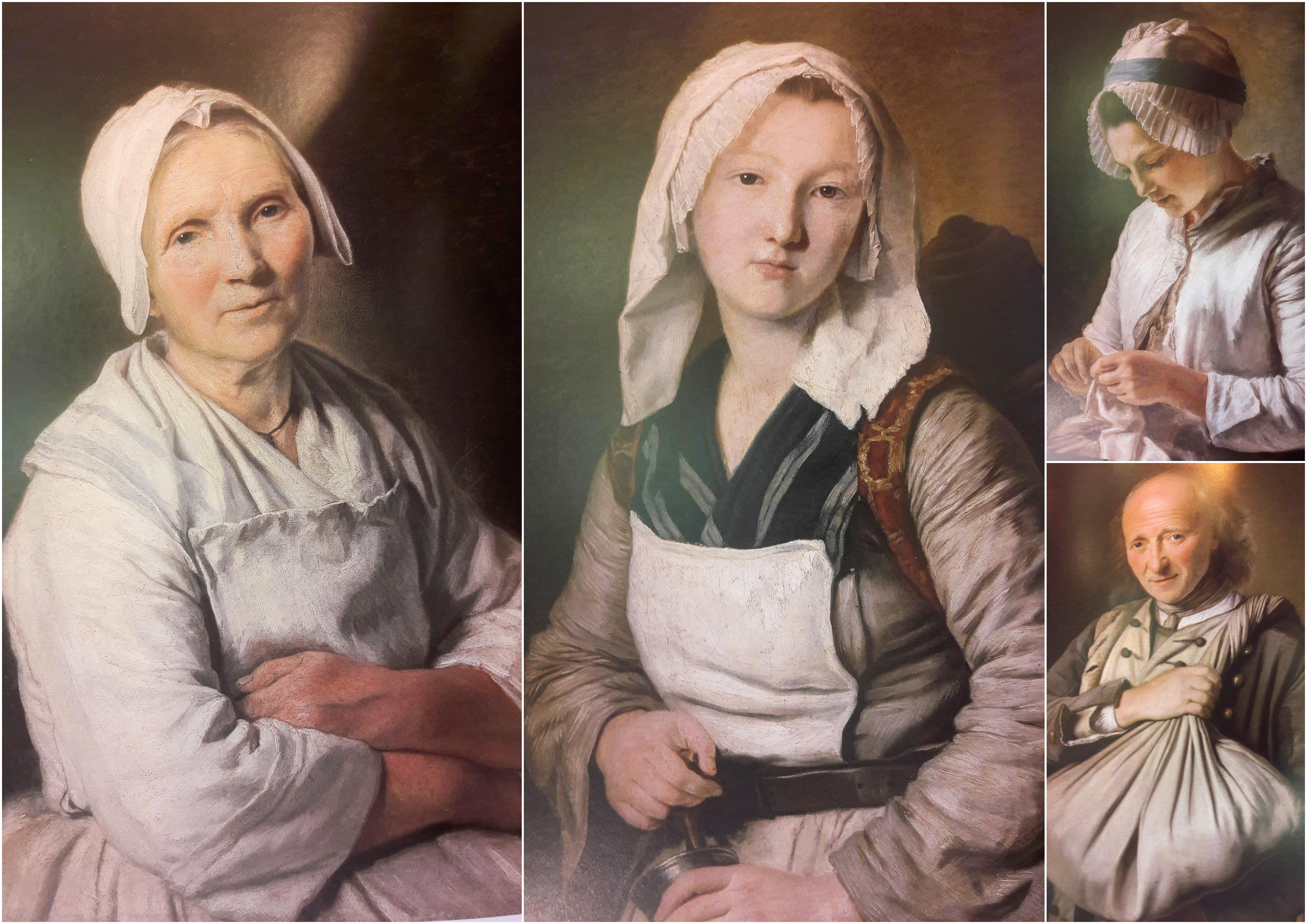 Peinture de femmes marseillaises au XVIIIème siècle par Françoise Duparc