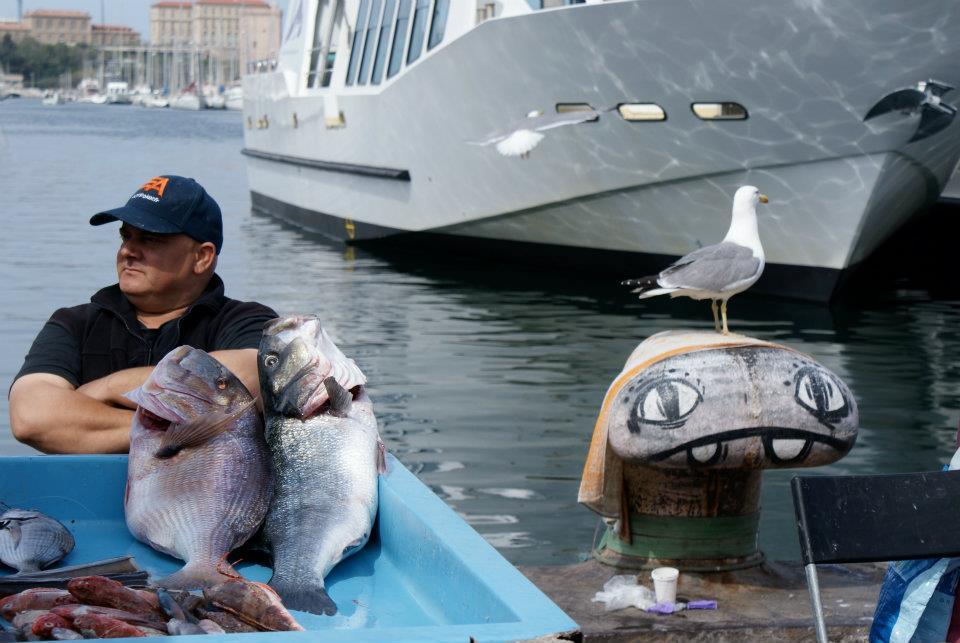 Visite guidée du Panier au départ du marché aux poissons Marseille