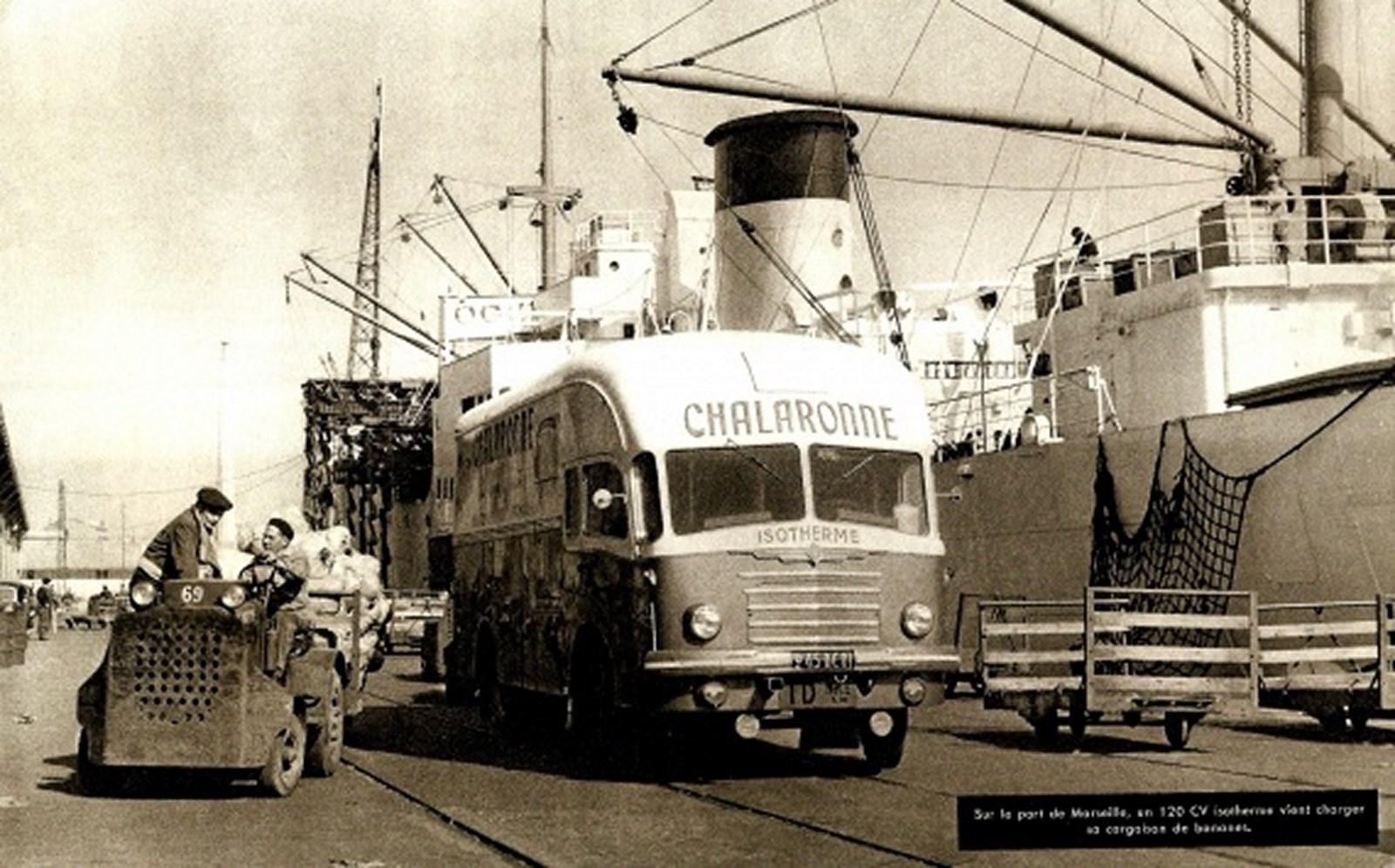 Conférence sur l'évolution de Marseille dans les années d'après-guerre: le port