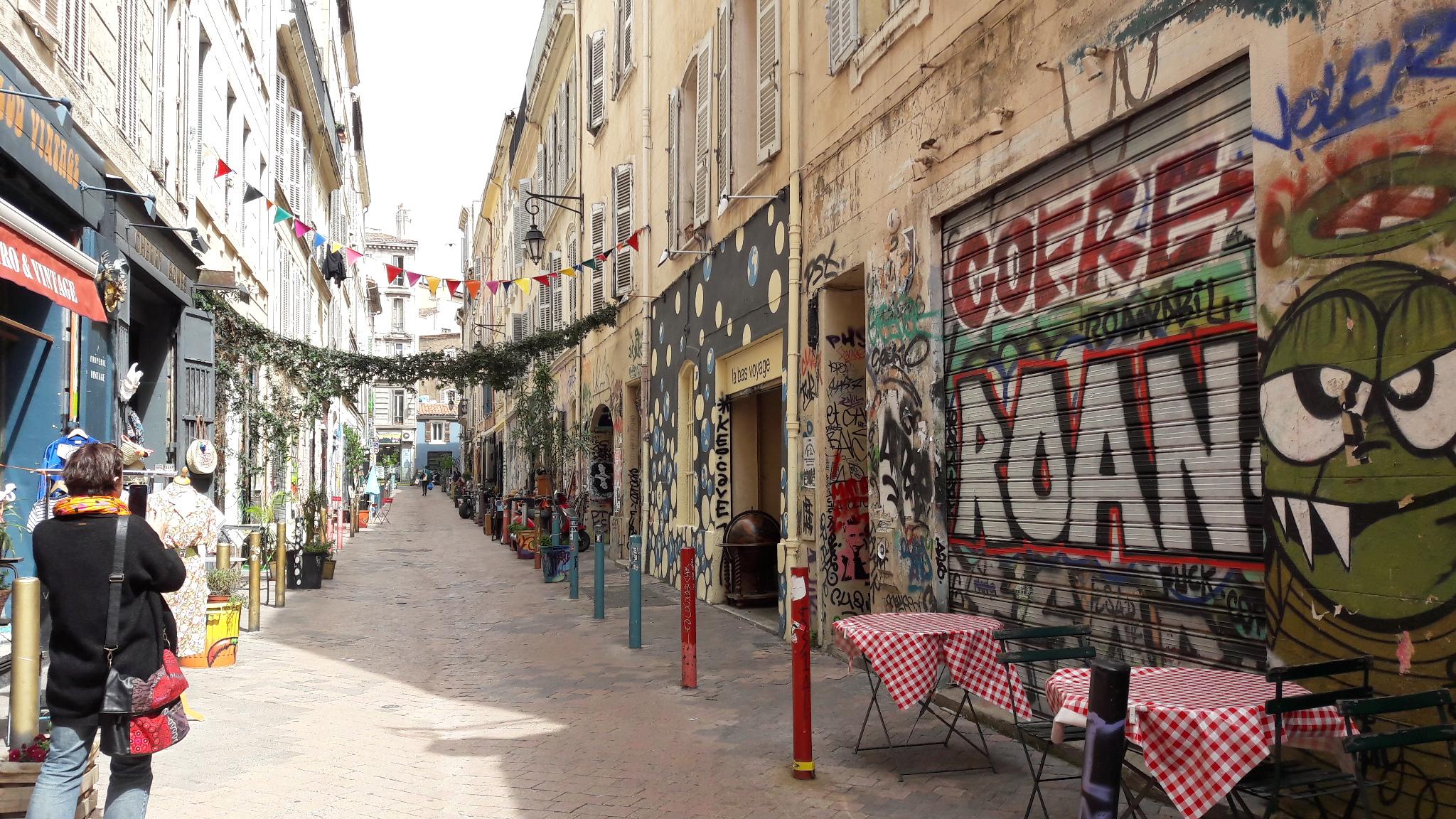 visite guidée la Plaine Marseille