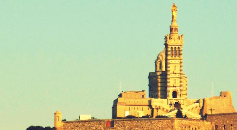 visite guidée de Notre Dame de la Garde