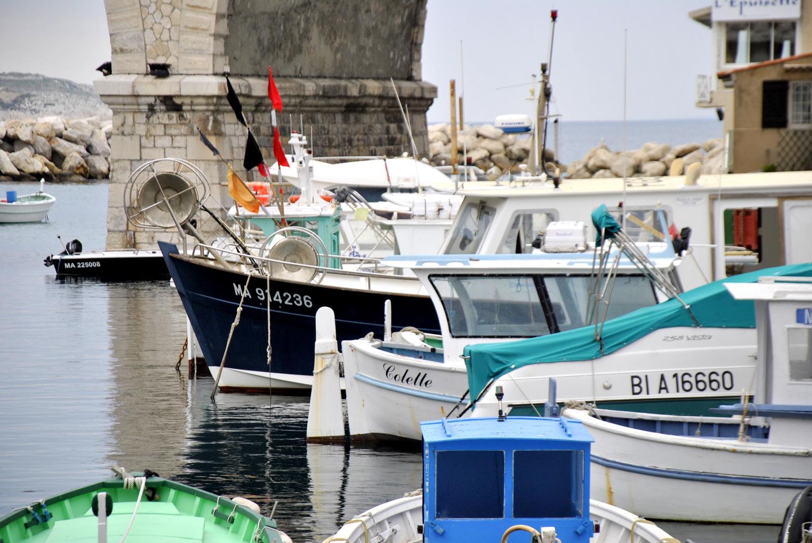 visite guidée au Vallon des Auffes à Marseille