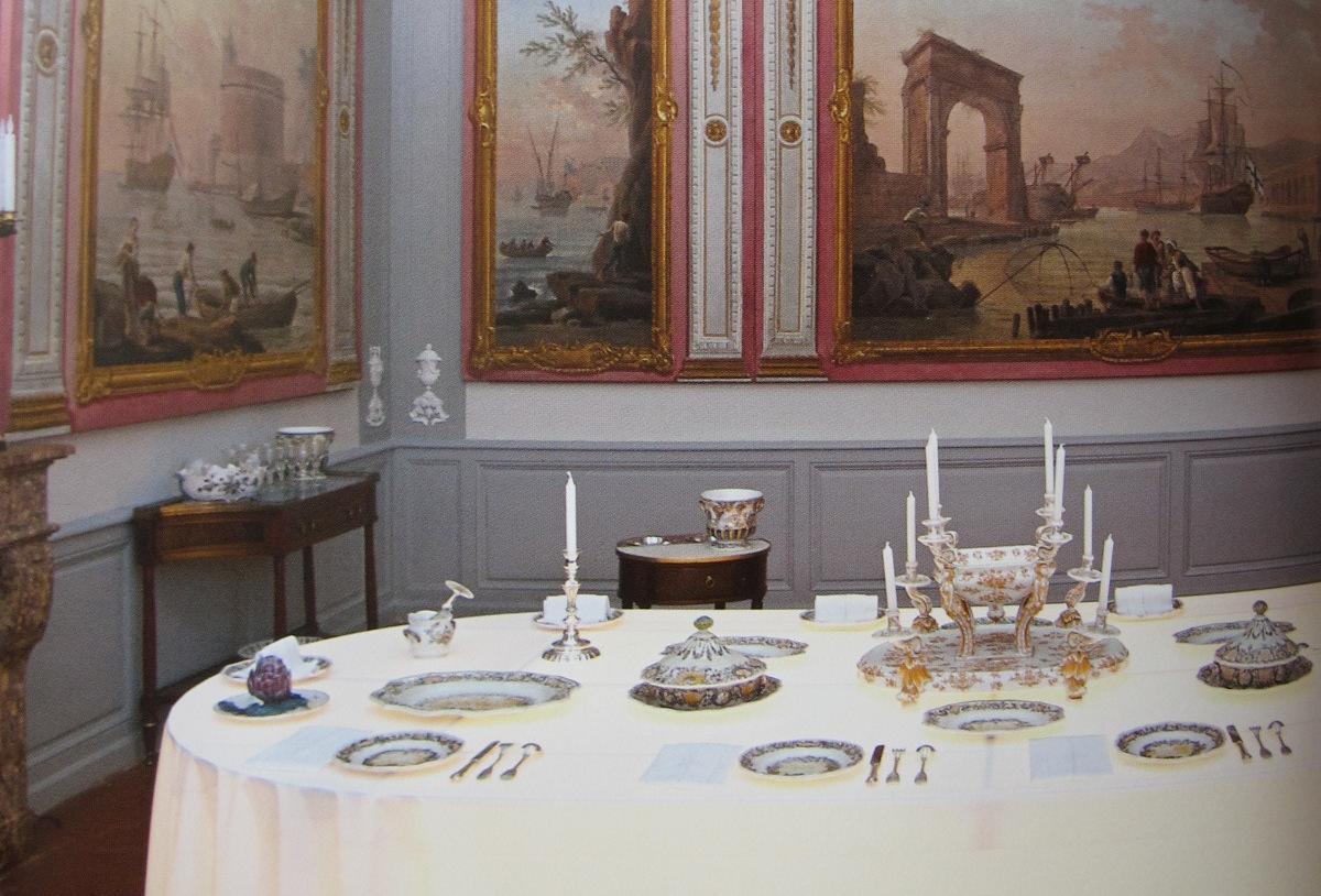 le château Borély, la salle à manger