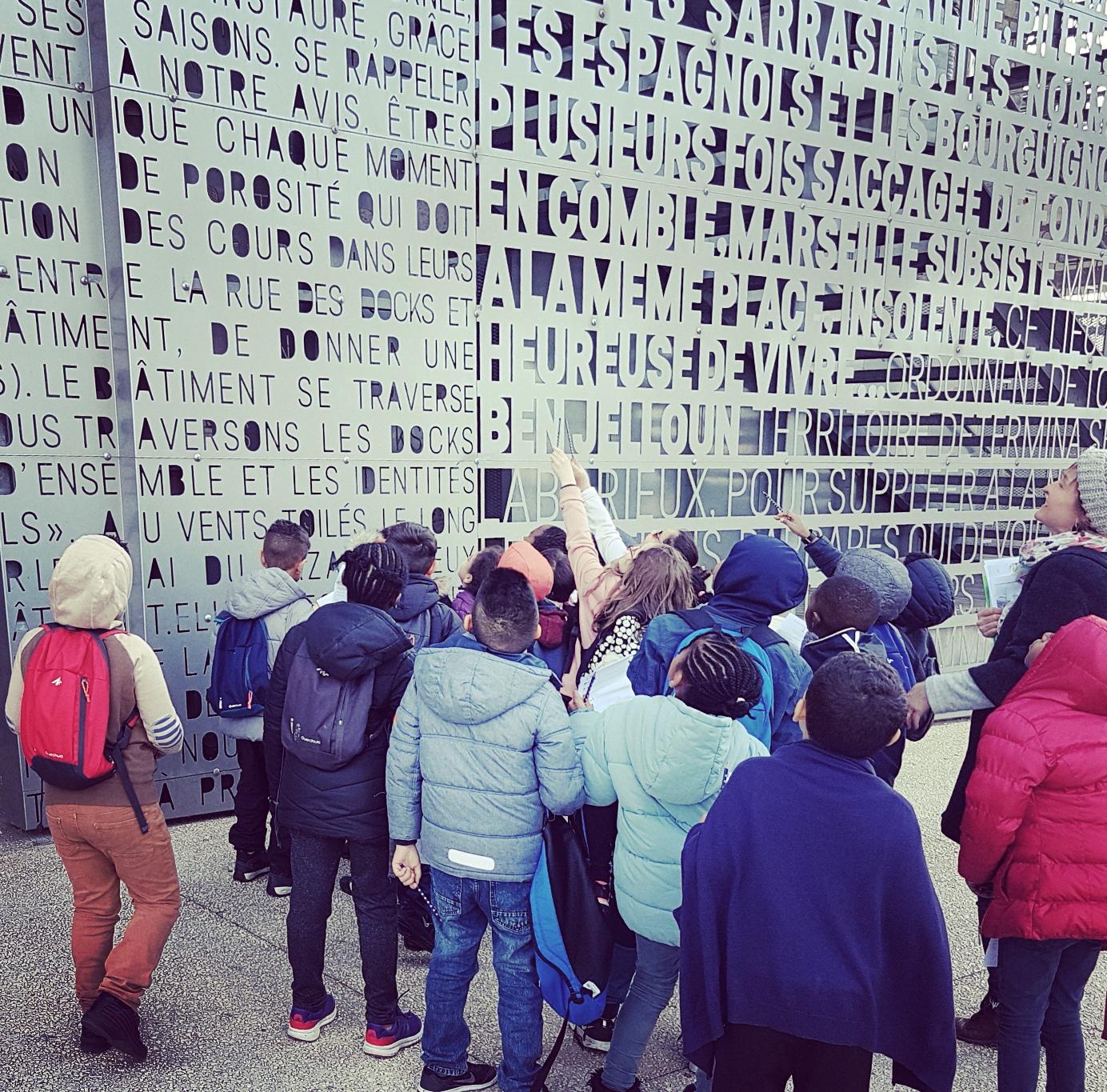 Visite guidée pour les groupes Scolaires Marseille