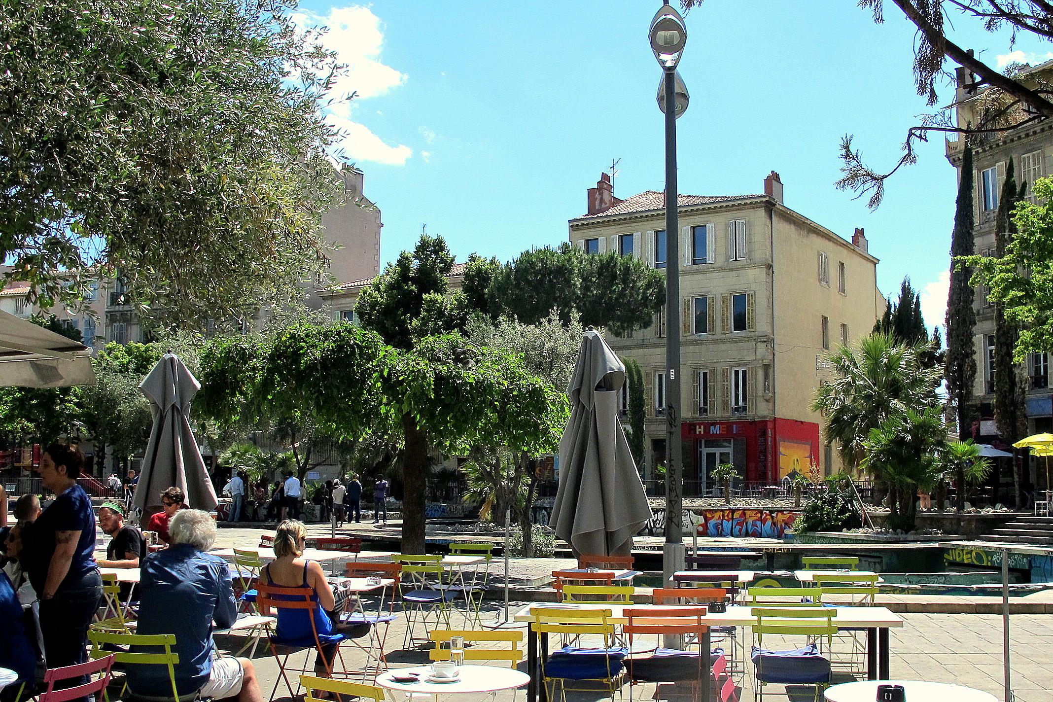 Le Cours Julien- Marseille