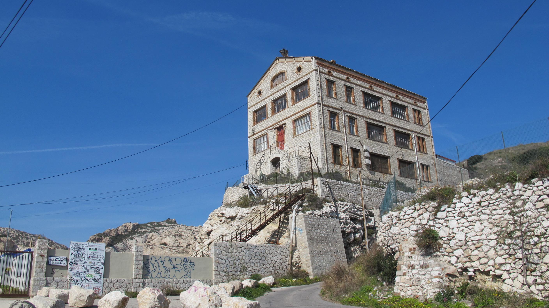 visite guidée dans les vestiges industriels de l'Estaque