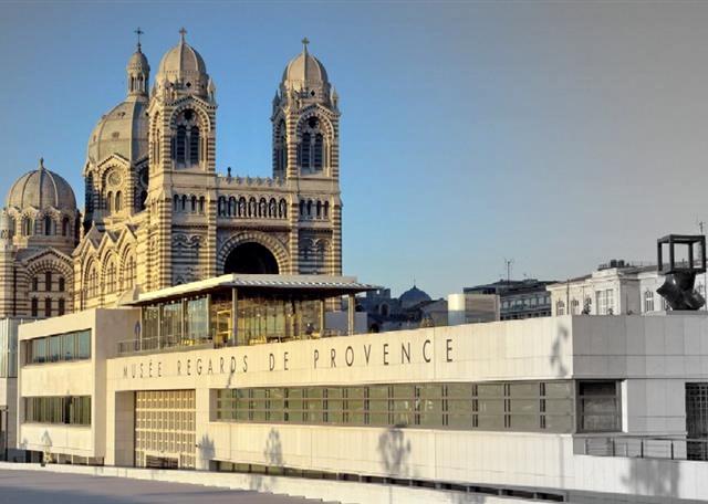 Vue du Musée regards de Provence