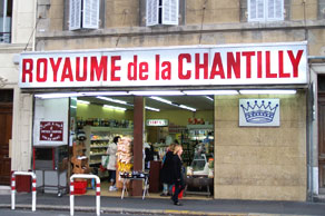 le Royaume de la Chantilly miam miam